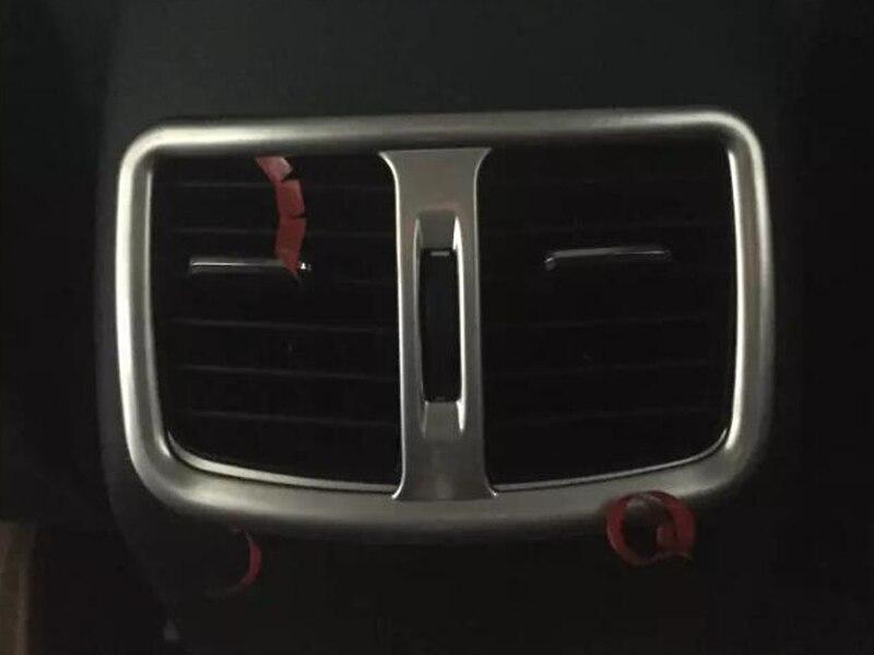 For Hyundai Tucson 2016 Rear armrest box decoration cover trim 1pcs