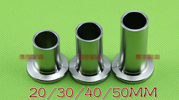 1PCS Ferrule Half Nipple NW16/25/40/50 KF16/25/40/50 L=20/30/40/50mm SUS304 New Vacuum Pump Flange Welding Fittings To Tri Clamp