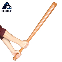 Hewolf Solid Wooden Baseball Bat
