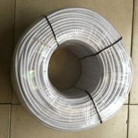8 m/lote vintage câble 2 * 0.75 cuivre tissu recouvert fil Edison lampe cordon Grip torsadée tissu éclairage Flex câble électrique
