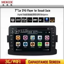 "free shipping 7"" HD screen Car DVD Radio Stereo For Renault Dacia Dokker Duster Logan Sandero  GPS Navigation Media Head unit"