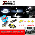 12x LED Car Auto Interior Canbus Dome Map Reading Light White 2835 Chips Kit For Mercedes Benz W212 E Class 2009-2012 #89