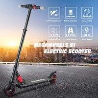 250 Вт Электрический скутер для детей и взрослых ультра легкий двухколесный Складной электрический самокат скейтборд рождественские подарк