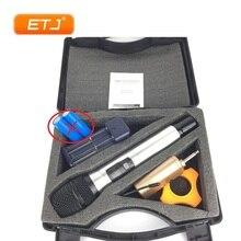лучшая цена ETJ Brand Professional UHF Wireless Microphone Dynamic Handheld Karaoke Portable Microphone Q1