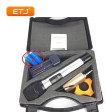 ETJ מותג מקצועי UHF מיקרופון אלחוטי דינמי כף יד קריוקי מיקרופון נייד Q1