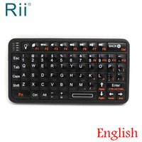 [Free Shipping] Original Rii 518 Wireless Mini Bluetooth Keyboard for Phone /iPad Pro / Tablets with Backlight