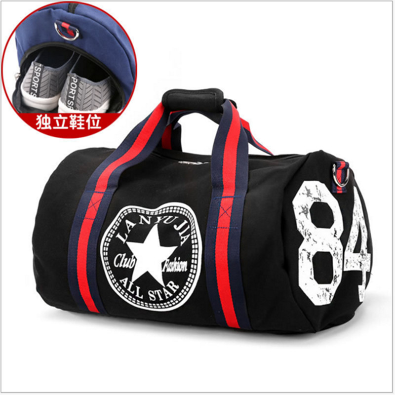 Canvas Sport Bag Training Gym Bag Men Woman Fitness Bags Durable Multifunction Handbag Outdoor Sporting Tote For Male