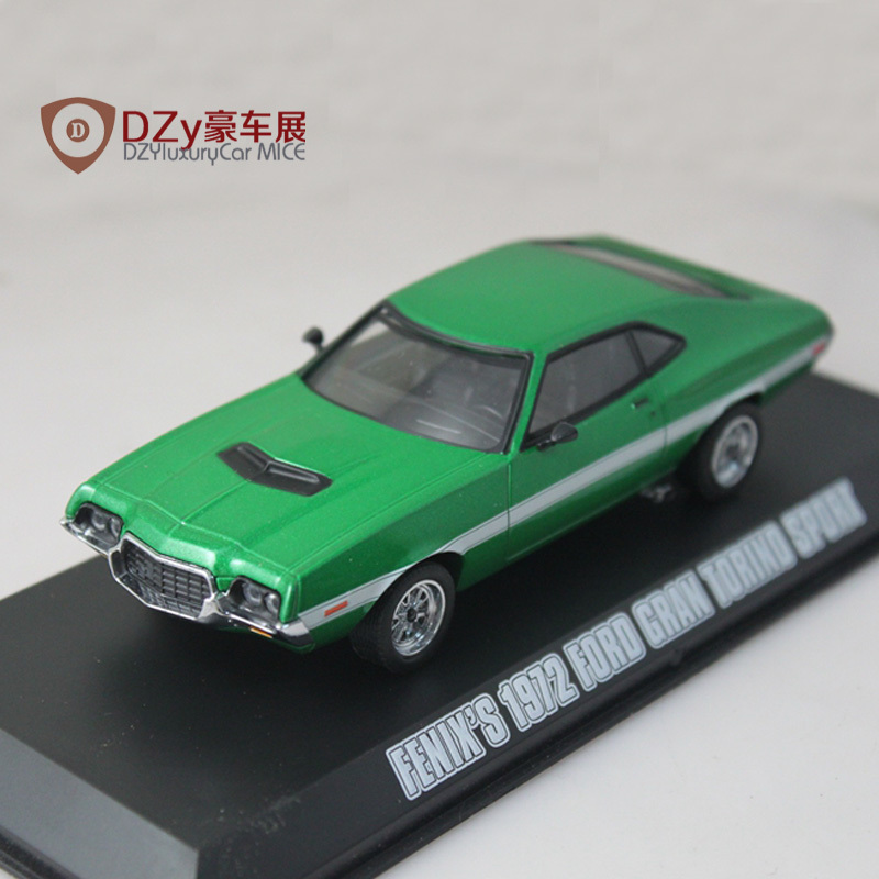 Diecast Toys Car Fast And Furious Car 1:43 Greenlight