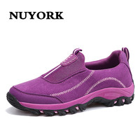 NUYORK Sneakers Women 2017 Casual Shoes Flat Shoes Mother Shoes Winter Luxury Woman Sneakers Casual Breathable