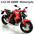 1: 12 Сплава модель мотоцикла, высокая моделирования литья металла мотоцикл игрушки, бесплатная доставка