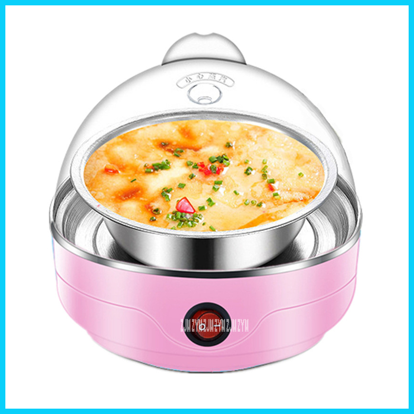 Y-ZDQ1 220V Family Multifunction Steam Electric Food With Safety Function 360 Degrees Steam 7 Egg Boilers With Transparent Cover яйцеварка ricci zdq 301