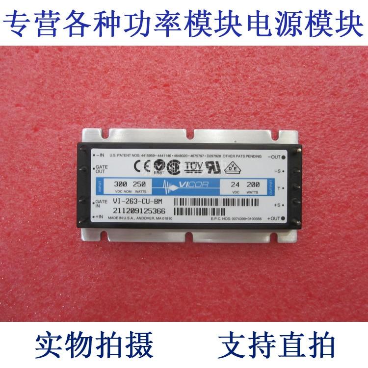 VI-263-EU-BM 300V-24V-200W DC / DC power supply module vicor vi 263 16 01 vi 263 mu mi 263 mu