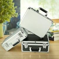 waterproof shockproof Aluminium cutting pluck foam Storage utility Briefcase Carrying Hand Tools Lock Case Accessories Organizer