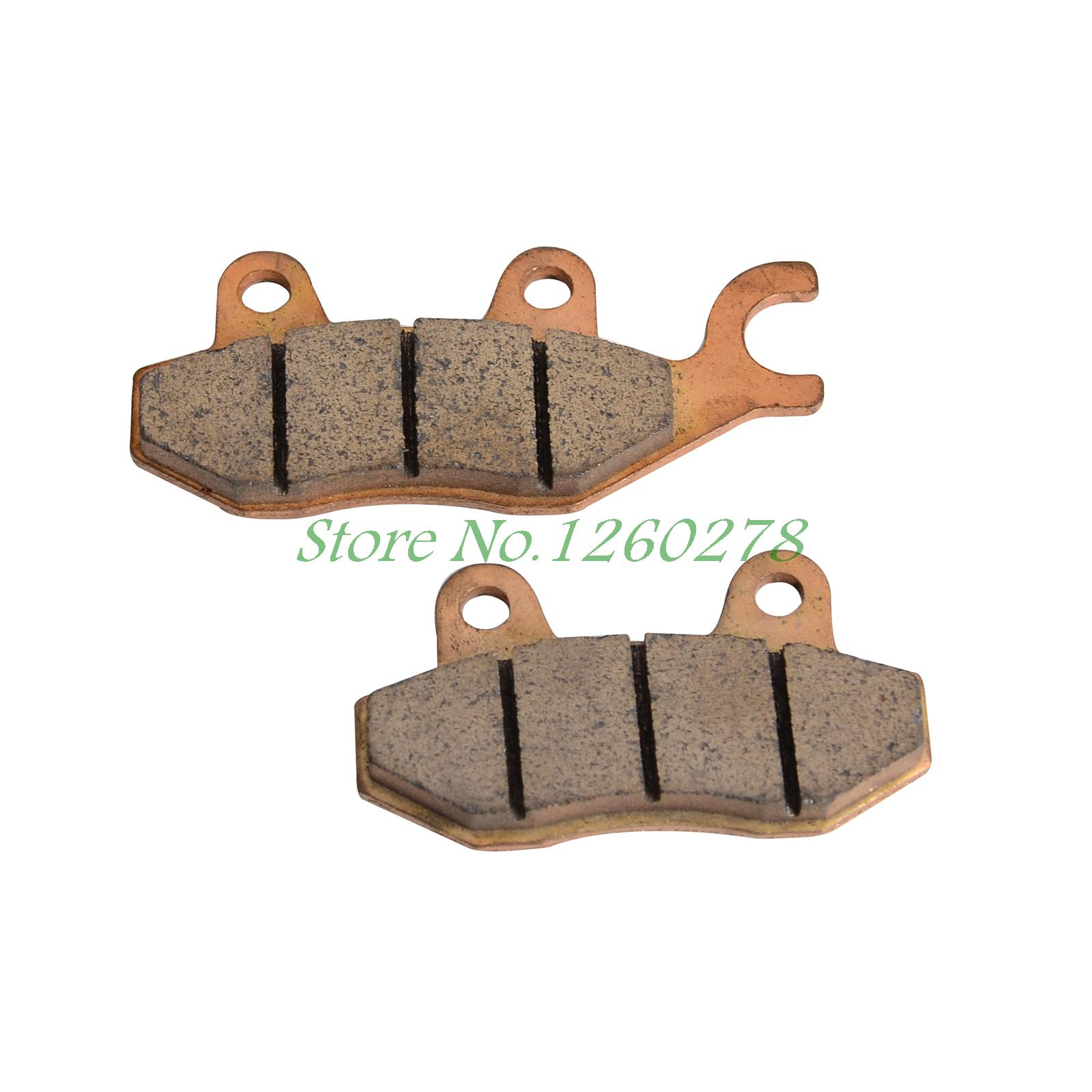 Motorcycle Right Rear Brake Pads For Aall <font><b>Hisun</b></font> UTV400 UTV500 UTV550 UTV700 UTV800 NEW image