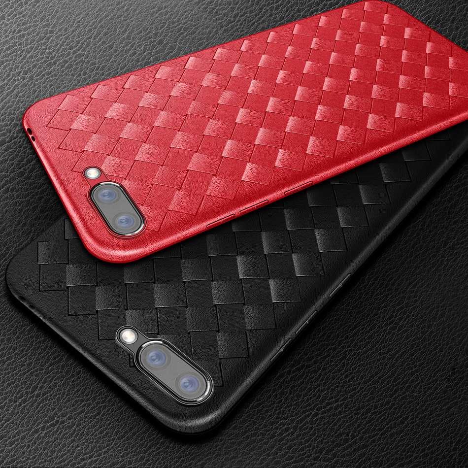 Чехол для Huawei Honor 10, ультратонкий ткачества силиконовый чехол 5,84 дюйма для Huawei Honor 10, мягкий ТПУ чехол для телефона, защитный чехол