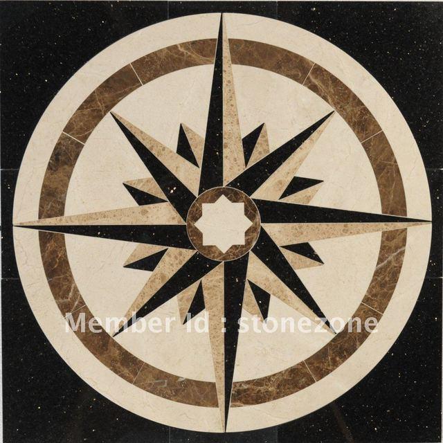 marble floor patterns, flooring medallion designs --many designs available