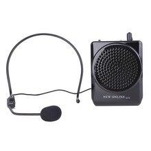 NOUVEAU EN LIGNE N74 Portable 20 W Haut-Parleur Avec Microphone Amplificateur de Voix pour L'enseignement de Guidage Haut-Parleur Propagande Mégaphone