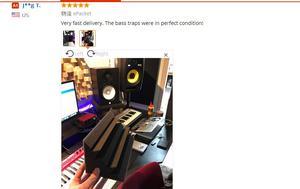 Image 5 - 16 шт., бас ловушка, акустические панели, пенопластовая музыкальная обработка для студии, Лучшая цена