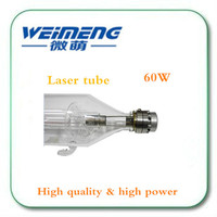 Weimeng brand CO2 Glass Laser Tube 1450mm 60W Glass Laser Lamp factroy directly supply for CO2 Laser Engraving Cutting Machine