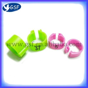 100pc free shipping Plastic clip Pigeon Ring(NEW)