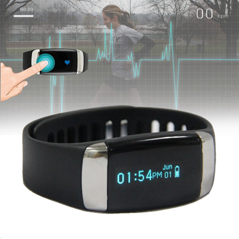 1pc fashion brand Smart watches Wristbands Heart Rate Touch Bracelet Pedometer Bluetooth Sports clocks Fitness Tracker gift H4