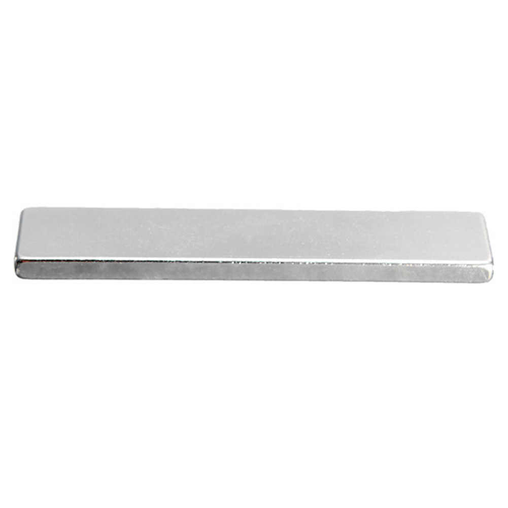 1Pc 50x10x3mm N35 Super Strong Cuboid Block Strip Rare Earth Neodymium Magnet thin magnet strong magnetic tool powerful magnetic
