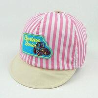 2016 New Summer Hat For Infant Baby Toddler Walking Helmet Baby Hat Stars Kids Baseball Sun