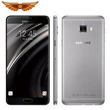 Original Samsung Galaxy C7 C7000 5,7 pulgadas 4GB RAM 64GB de RAM 16.0MP 4G LTE Octa Core 3300mAh Dual SIM Android 6,0 teléfono móvil