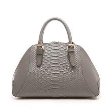2016 Ladies Crocodile Pattern Leather bag Women Handbag High Quality Shell Bag Women Messenger Bag Crossbody Bags