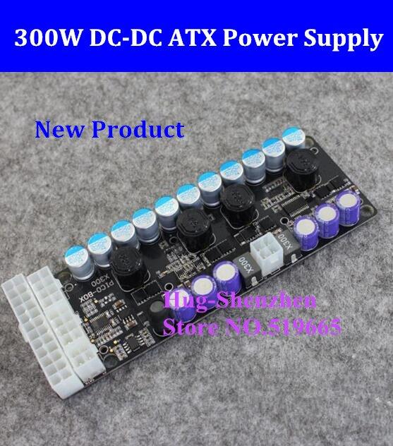 X300, 300w output, 16-24v wide input DC-DC ATX Power Supply (VR Ready Pico PSU) MINI ITX DC to Car ATX PC Power Supply Module dc dc atx psu 12v 250w pico atx switch pico psu 24pin mini itx dc to car atx pc power supply for computer
