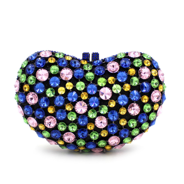 Women Evening crossbody Bags Ladies Clutches Female clutch Crystal Party Bags pearl green wallets wedding Bridesmaids purse blue free shipping a15 48 blue color fashion top crystal stones ring clutches bags for ladies nice party bag