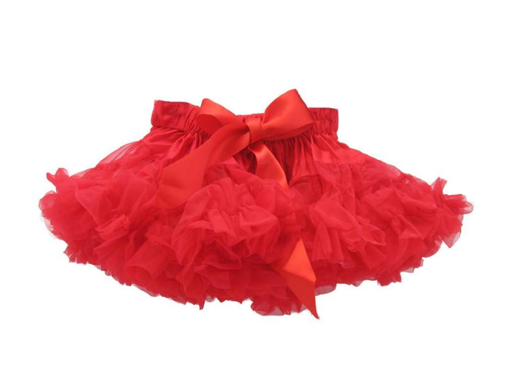 Фиолетовые Пышные юбки-американки для девочек юбка-пачка юбка для девочек юбка для танцев пышная и Мягкая юбка-американка для девочек - Цвет: red