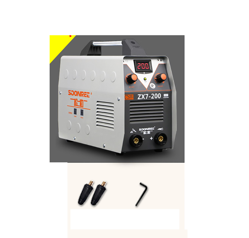 Full copper core small home 220V ARC MMA Welding Machine 200A Phase Welder DC Inverter Digital Dsplay welding apparatus ZX7-200 igbt inverter welding machine co2 gas shielded welding machine n 200 220v 200a