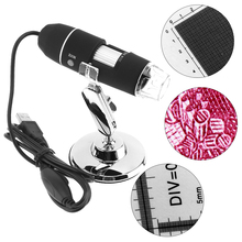 Buy online Portable 800X USB Adjustable Handheld Digital Microscope with 8 LED Light for Windows 2000 / 2003 / XP / 7 / 8