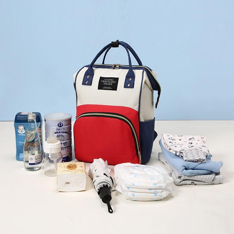 HTB16MQ9cwmH3KVjSZKzq6z2OXXaH Large Capacity Mummy Bag Maternity Nappy Bag Travel Backpack Nursing Bag for Baby Care Women's Fashion Bag