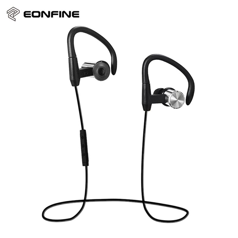 Eonfine Waterproof Sports Bluetooth Earphone Wireless in