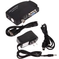 Premium Version CCTV DVD DVR Camera TV BNC S Video VGA Input To VGA Output PC