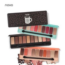 NOVO Fashion eyeshadow palette 10 Colors Matte EyeShadow palette Glitter eye shadow MakeUp Nude MakeUp set Korea Cosmetics eyeshadow palette 180 colors matte eye shadow naked palette glitter eye shadow makeup nude makeup set korea cosmetics