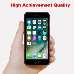 Image 3 - Ultra Sottile Variopinta Caso In Fibra di Aramide per iPhone X Della Copertura Opaca di Gomma Modello In Fibra di Carbonio per il iPhone 7 8 7 più di 8 Più Il Caso di