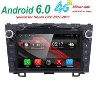 HD Quad Core 1.6 GHz 1024X600 Android 6.0 Samochodowy Odtwarzacz DVD Radio dla Honda CRV 2006-2011 3 Nawigacja GPS 3GWIFI WIDEO USB SWC BT