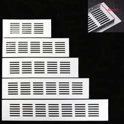 4 шт./лот 60 мм Ширина алюминиевая вентиляционная решетка вентилятор решетка для шкафа обуви шкаф-Кондиционер