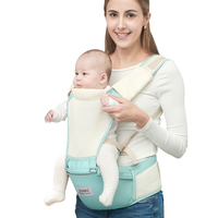 Baby Carrier Portable Child Suspenders Backpack Thickening Shoulders Infant Kangaroo Bag Rgonomic Multifunctional