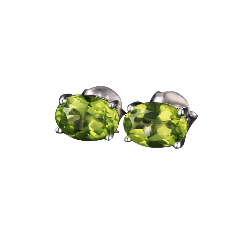 Genuine-925-Sterling-Silver-Earrings-Oval-Natural-Green-Peridot-Birthstone-Stud-Earrings-for-Women-Fine-Jewelry (2)
