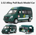 Green Truck, postal car 1:32 alloy Pull back model cars,suv models,Diecast car,free shipping