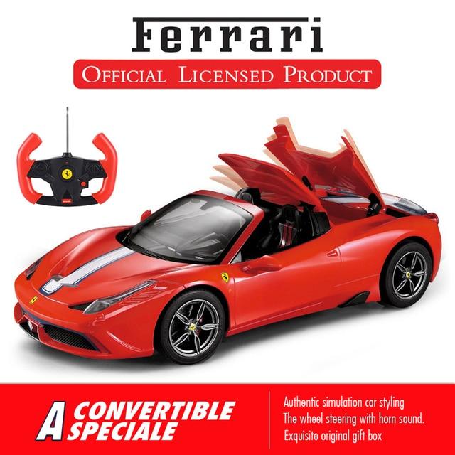 Rastar Ferrari RC Car 114 Remote Control Toys Model Sports Original Convertible