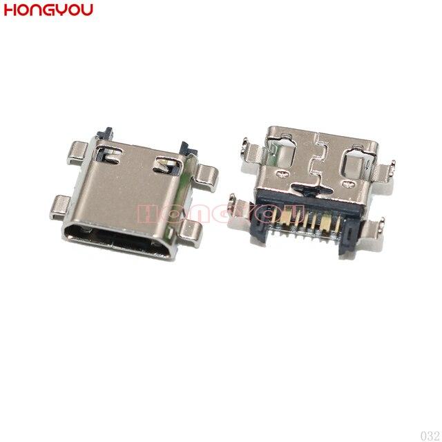 100Pcs Voor Samsung J5 Prime On5 G5700 J7 Prime On7 G6100 G530 G532 G570 G610 Usb Opladen Dock Lading jack Socket Port Connector