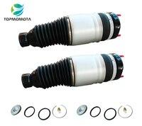2 шт. для Grand Cherokee WK2 Передняя воздушно газовая пружина амортизатор воздушная подушка безопасности 68059905AD 68059904AB