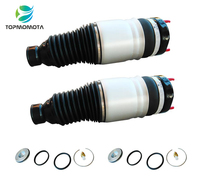 2PCS for Grand Cherokee WK2 Front Air Suspension Air Spring Shock Absorber Air Ride AirBag 68059905AD 68059904AB