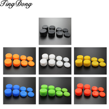 Tindong capa adesiva para polegar de silicone, 8 peças, proteção analógica para controle de ps4, ps3, switch pro, xbox one 360 for wii pro