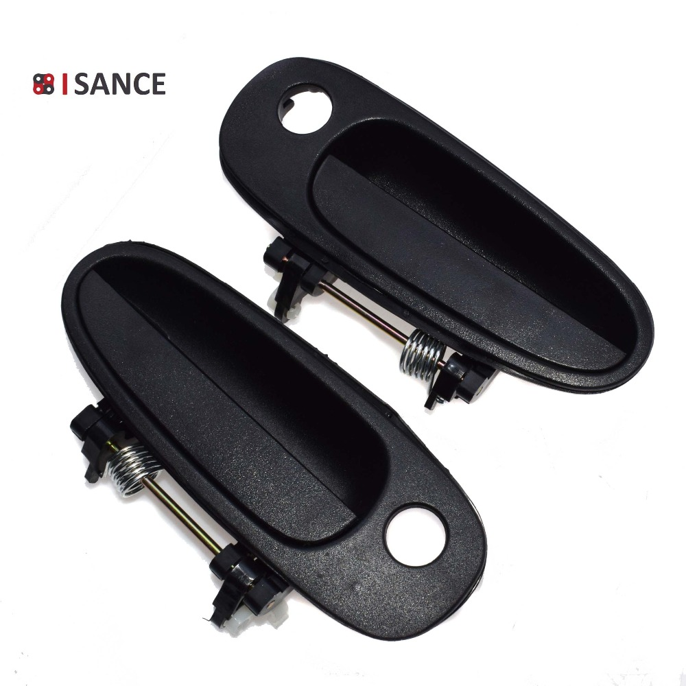 hight resolution of isance black outside door handle front left right 6922012160 6921012160 for toyota corolla geo prizm 1993 1994 1995 1996 1997